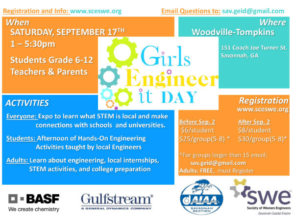 Girls Engineer It Day