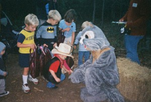 Halloween Hike 2016 Oatland Island Wildlife Center