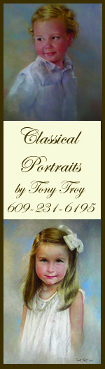 classical portraits children Savannah Tony Troy Art