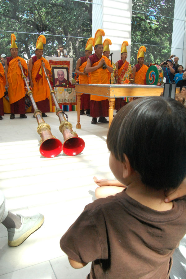 Tibetan Buddhist Monks in Savannah