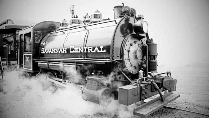 Train Rides at Georgia State Railroad Museum Savannah