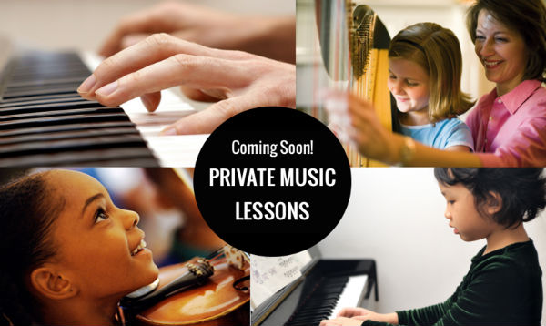 private music lessons instrument Savannah violin cello harp piano