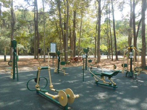 Skidaway Island State Park Savannah outdoor gym