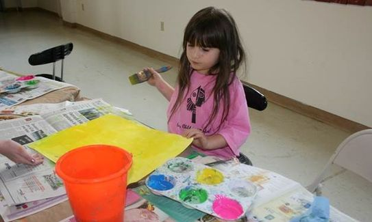 art classes for preschools Hilton Head Is. Savannah Bluffton