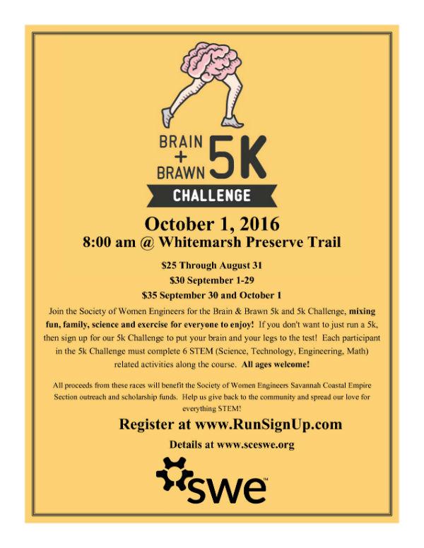 Brain & Brawn 5K & STEM Challenge Savannah