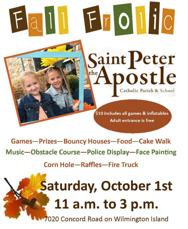Fall Festival Saint Peter the Apostle Wilmington Island 2016
