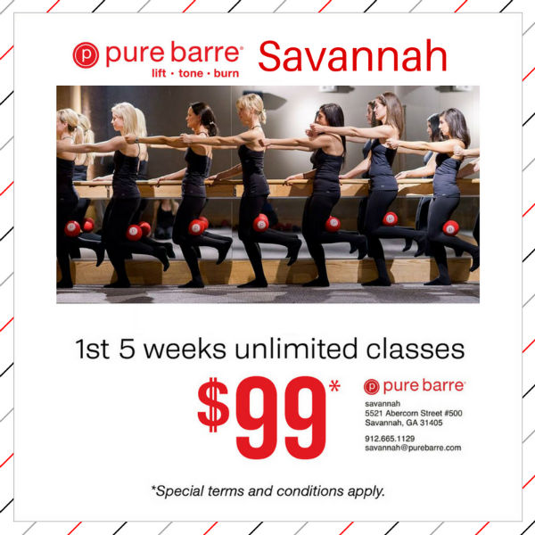 Pure Barre Savannah discount