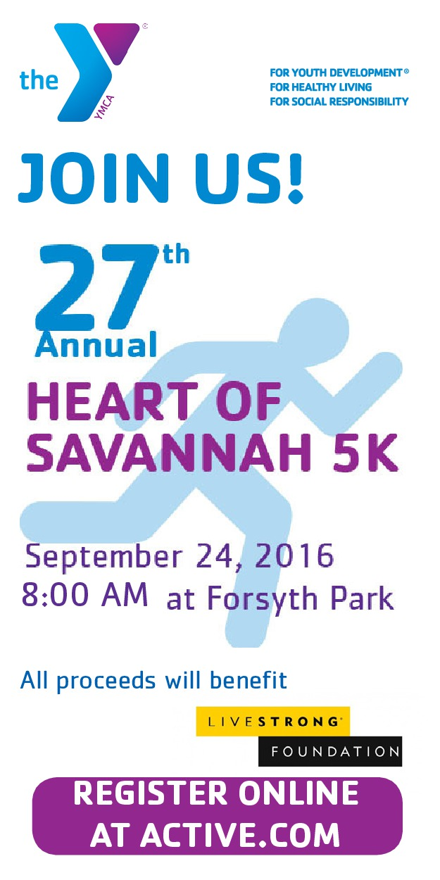 Heart of Savannah 5K YMCA Coastal Georgia