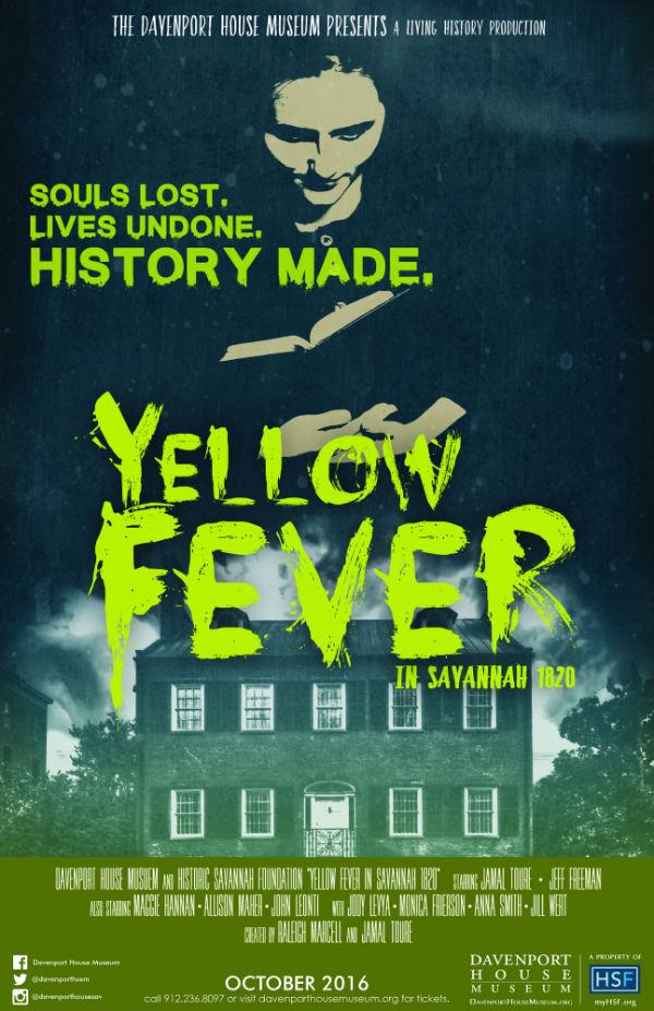 Yellow Fever program @ Davenport House Savannah 2016
