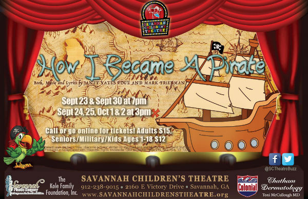 How I Became A Pirate Savannah Children's Theatre