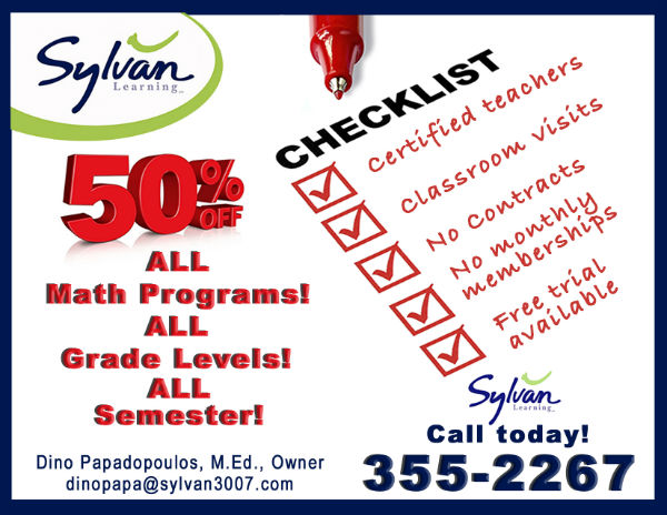 Math Tutoring Sylvan discount Savannah