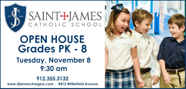 St. James Catholic School Open House Savannah schools