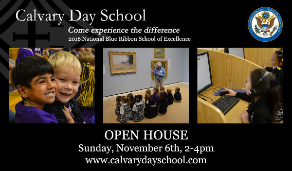 Calvary Day School Savannah Schools Open House