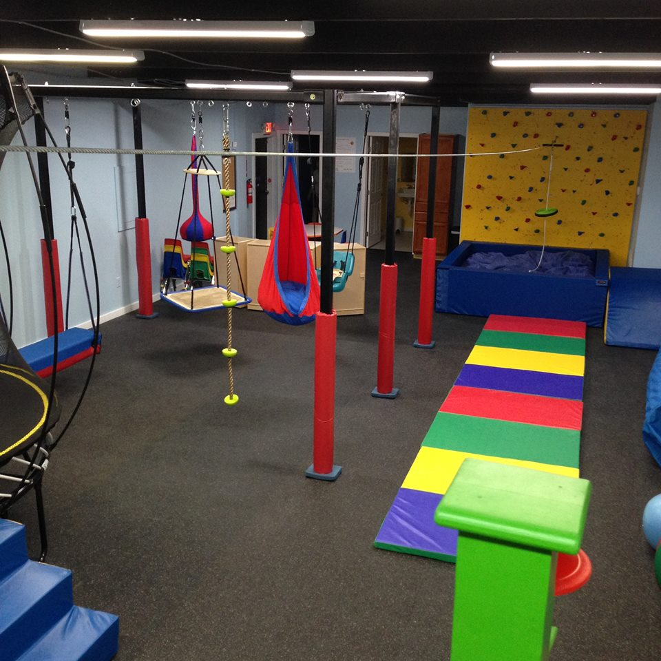 Drop-off children's sensory gym Bluffton Ignite the Senses