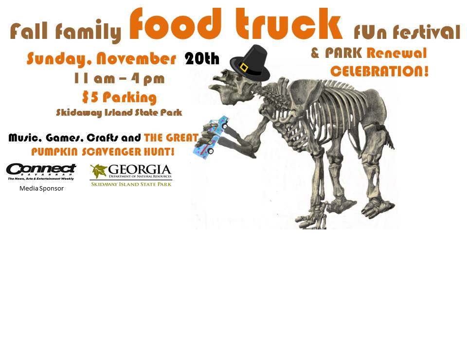 Savannah Family food truck Festival Skidaway Island State Park