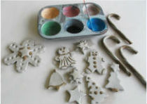 Holiday Parent & Child Clay Ornament Workshop Savannah 2016