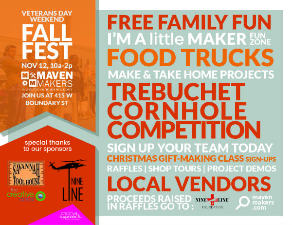 Free Family Fall Festival Maven Makers Savannah