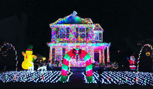 Best Home Holiday Christmas Lights Displays Pooler