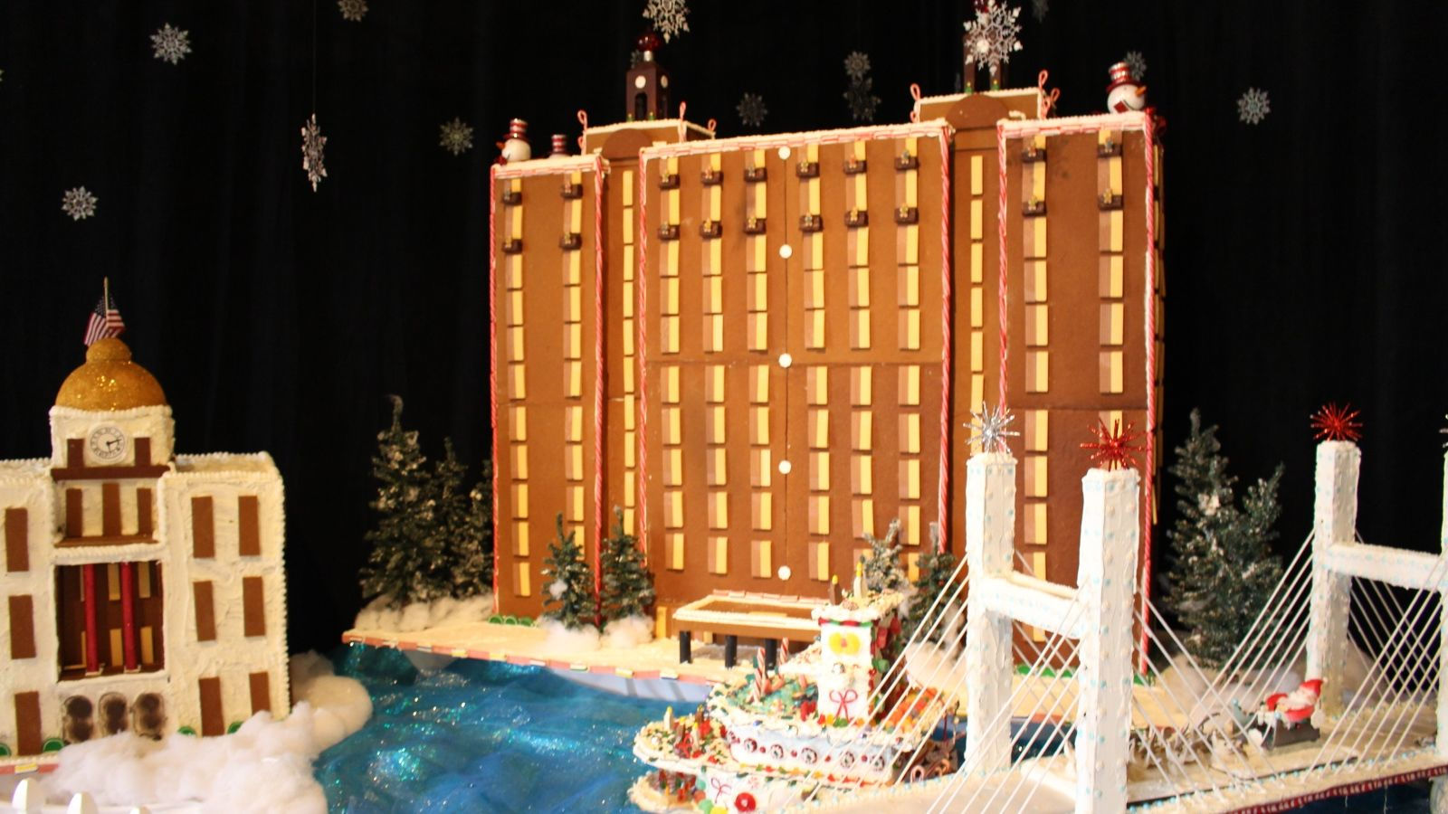 Westin Savannah Gingerbread Village 2016 Holidays Savannah