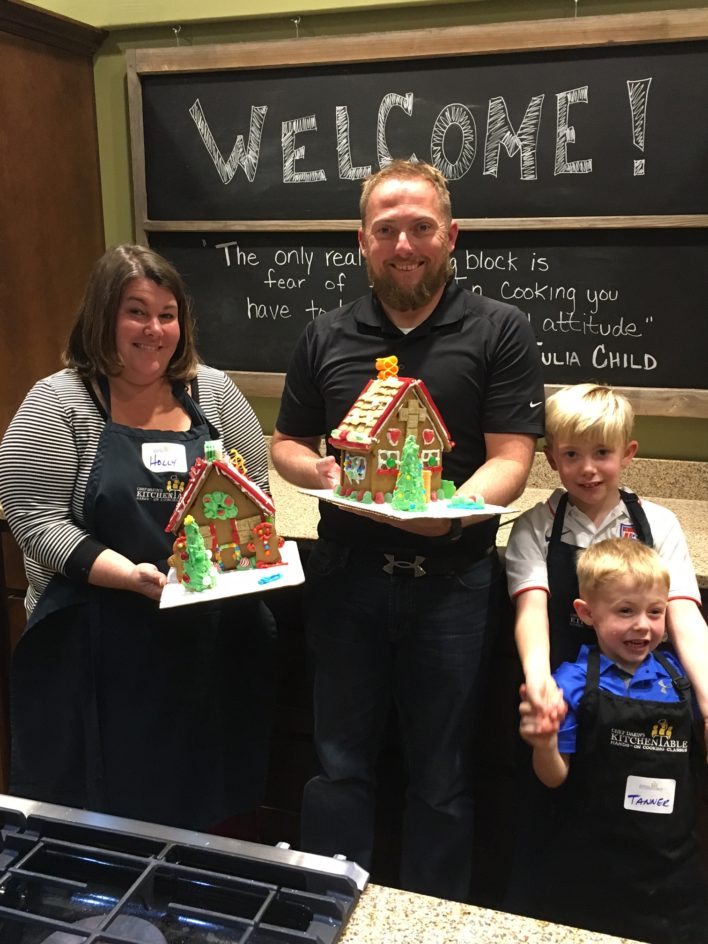 GingerBread House Workshop Savannah Chef Darin