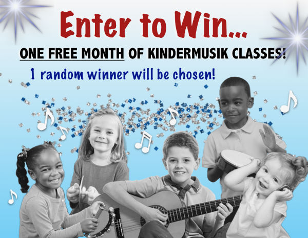 giveaway Kindermusik Savannah