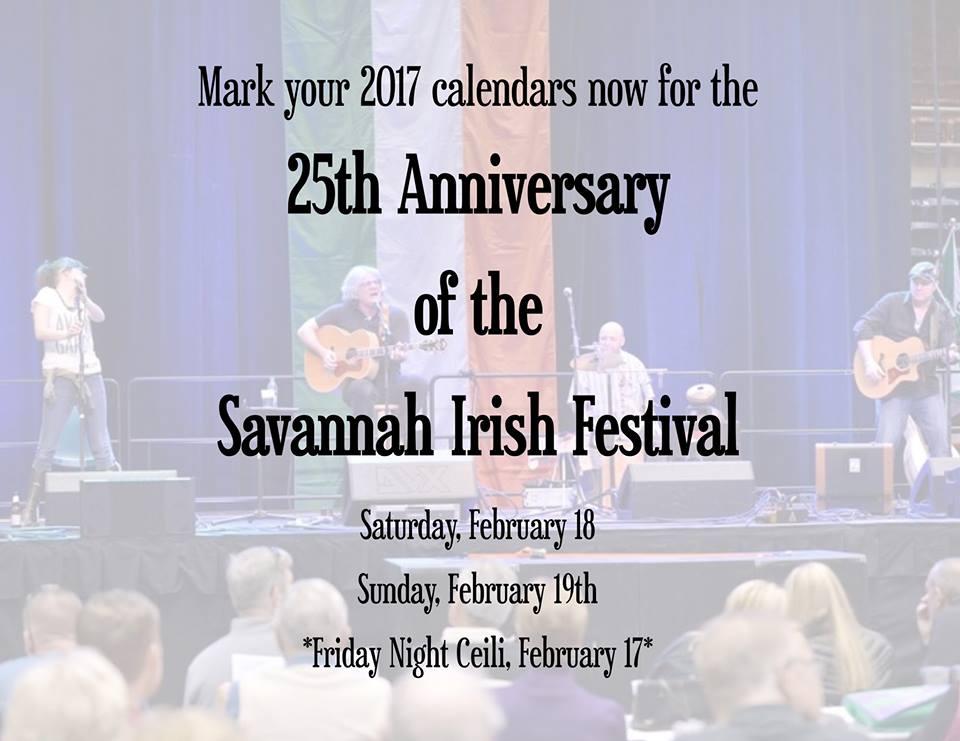Savannah Irish Festival 2017