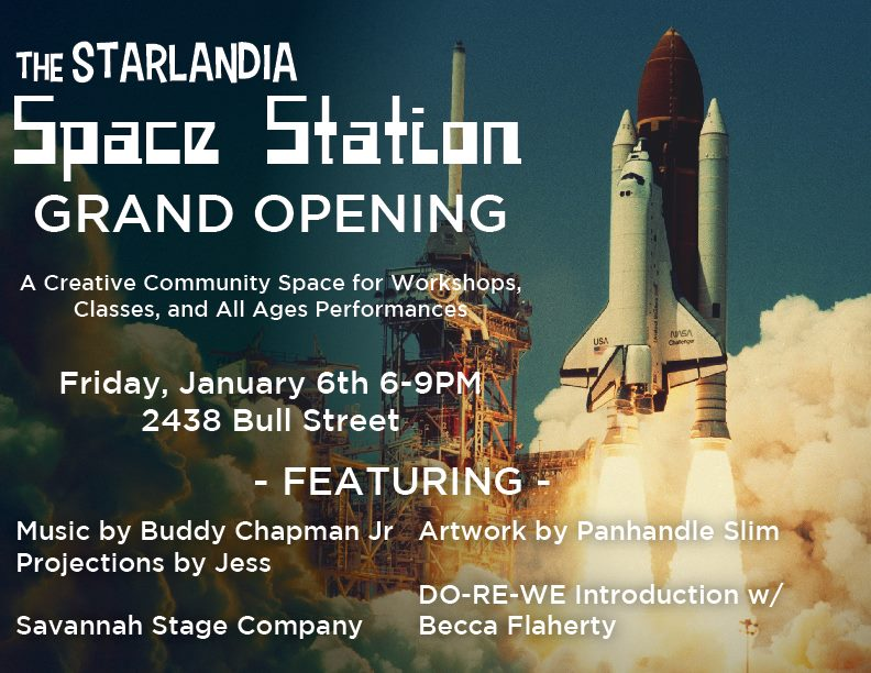 Starlandia Grand Opening Savannah Art