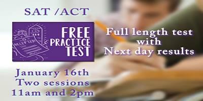 FREE SAT ACT Practice Test Savannah Sylvan Learning Center