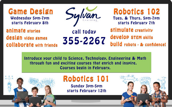 Sylvan Learning Center Robotics Video Game Design STEM