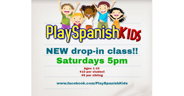 playSpanish Kids Saturday Spanish lessons
