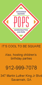 Savannah Square Pops Children's birthdays