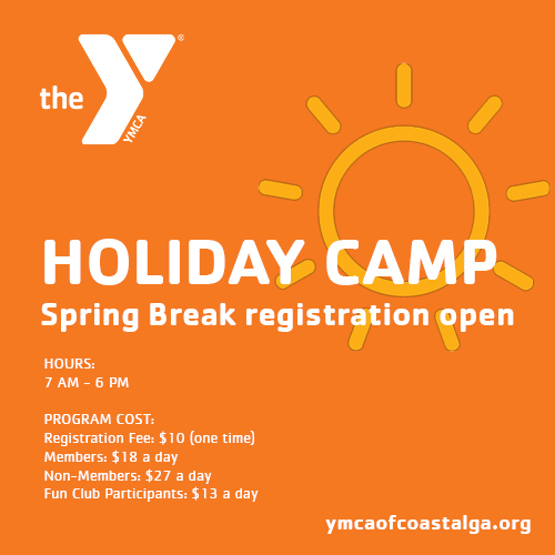 Spring Break Savannah Camps 2017 YMCA Coastal Georgia
