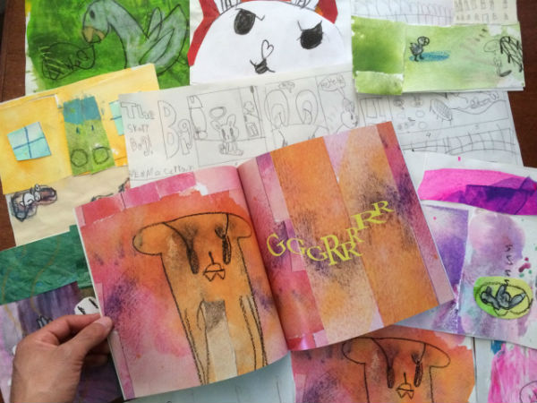 Scribble Art Studio youth art classes picture book class