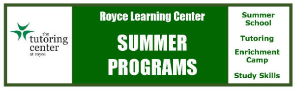 Royce Learning Center Summer Programs Savannah Tutoring