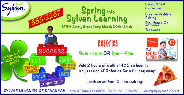 Spring Break Camps Savannah Sylvan Learning Center