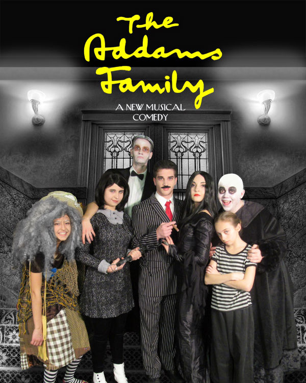 Addams Family Musical St. Andrew's School Savannah