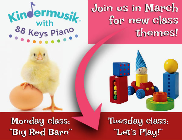Kindermusik Savannah Mommy and Me Preschooler activities