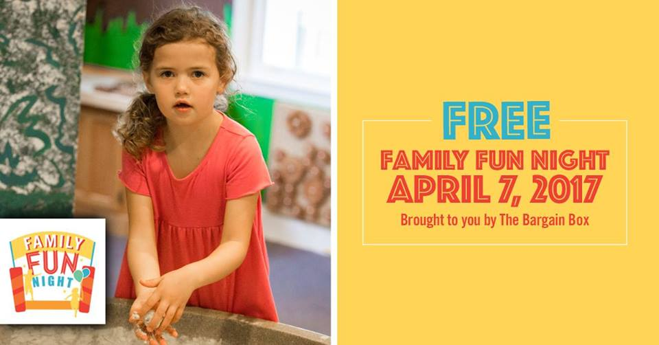 Free Family Fun Night Sandbox Children's Museum Hilton Head