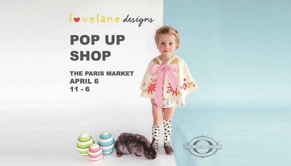 Lovelane Designs Pop Up Shop Paris Market Savannah Easter