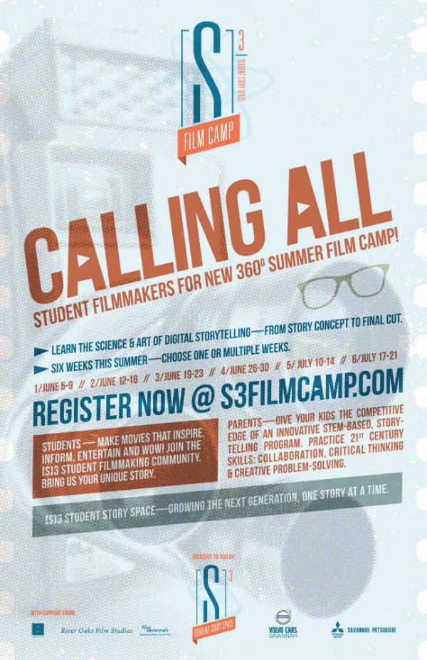 Savannah Summer Camps Film Camp 2017