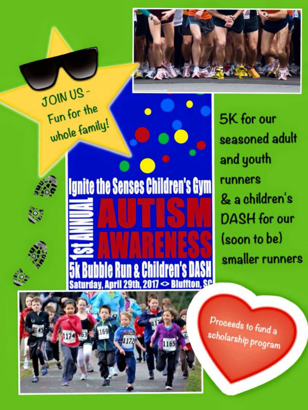 Autism Awareness 5K Dash Bluffton 2017