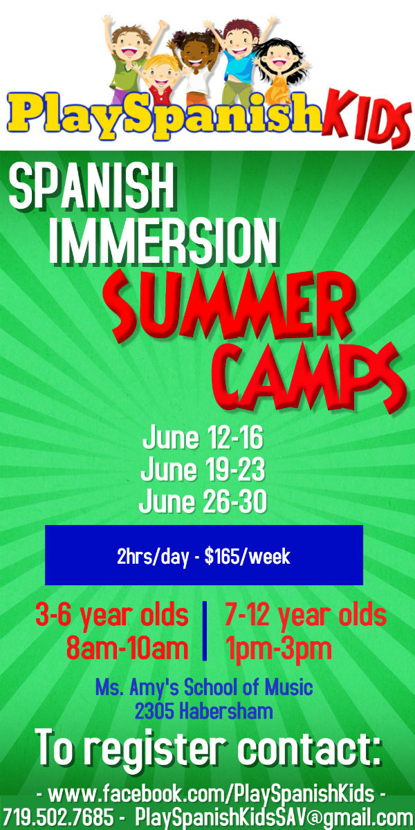 Spanish Immersion Summer Camps Savannah 2017