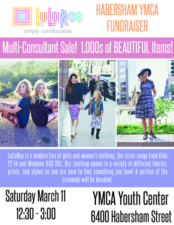 LuLaRoe Savannah sale YMCA Habersham