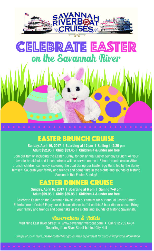 Easter Cruise with Easter Bunny Savannah 2017