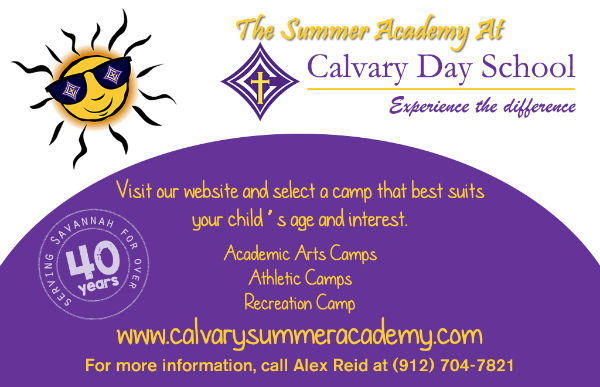 Calvary Summer Camps Savannah 2017