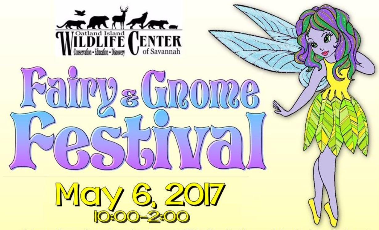 Fairy Gnome Festival Savannah Oatland Island 2017