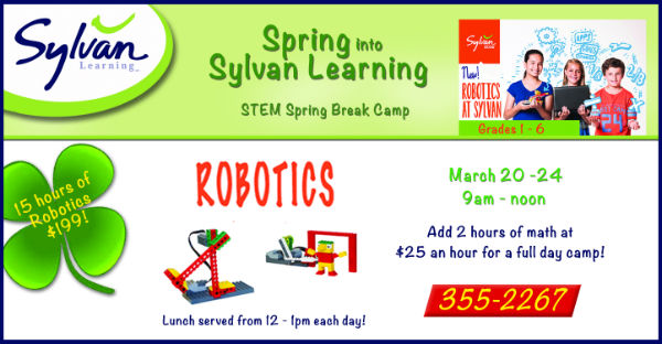 Sylvan Learning Center Savannah Spring Break Camps Robotics
