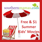 free $1 summer kids movies Savannah