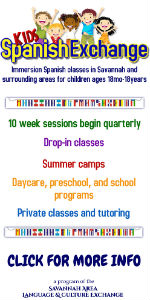 Spanish kids classes Savannah children camps