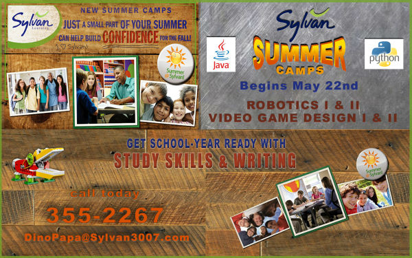 STEM Robotics Coding Video Game Design Savannah Camps 2017 Sylvan